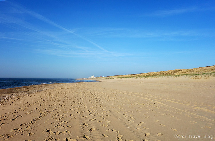 A beach, Holland, the Netherlands.