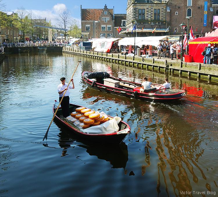 An old cheese merhant, Alkmaar, the Netherlands.