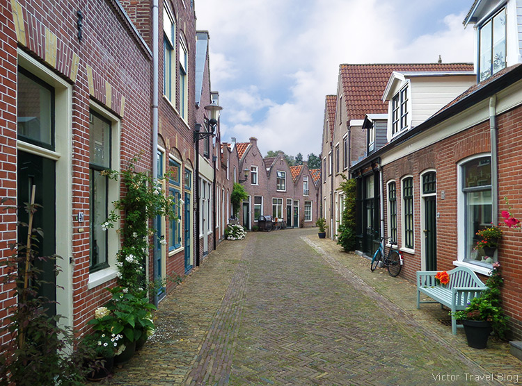 In the old city of Alkmaar, Holland, the Netherlands.