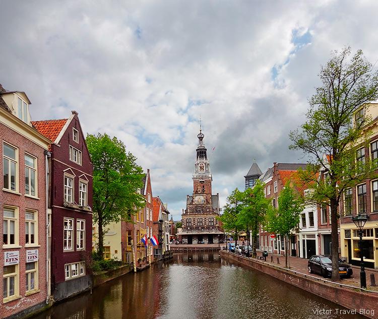 A former Catholic church of Alkmaar, the Netherlands.