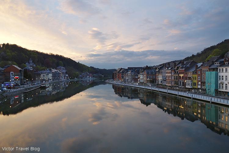 Meuse River, Dinant, Belgium.