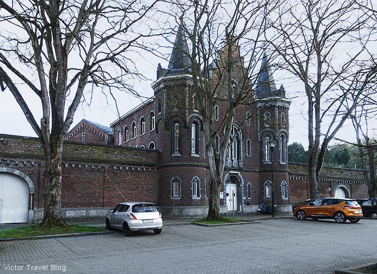The prison of Dinant, Belgium.