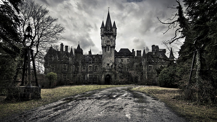 Miranda Castle, Belgium. Demolished in 2017.