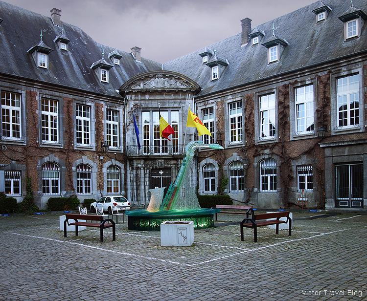 City Government Office, Dinant, Wallonia, Belgium.