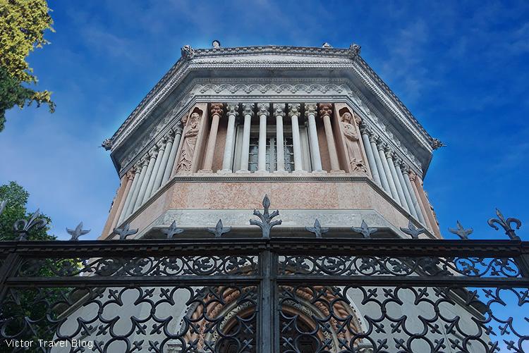 Battistero. The Upper Town of Bergamo, Italy.