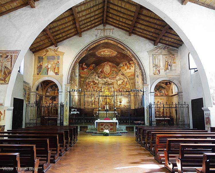 The church of San Michele al Pozzo Bianco, Bergamo, Italy.