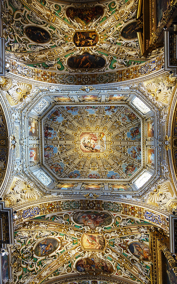 In the Basilica of Santa Maria Maggiore, Bergamo, Italy.