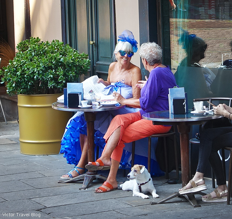 In the Upper Town of Bergamo, Italy.