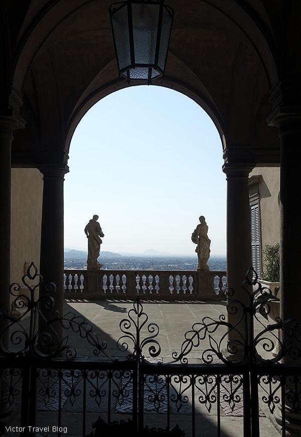 An old villa in Bergamo, Italy.