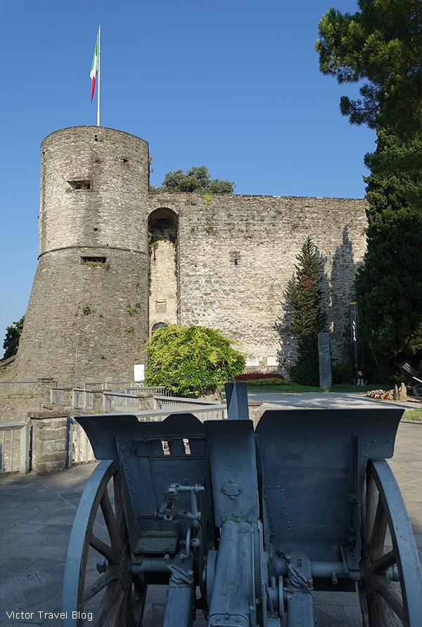 Rocca di Bergamo, Italy.