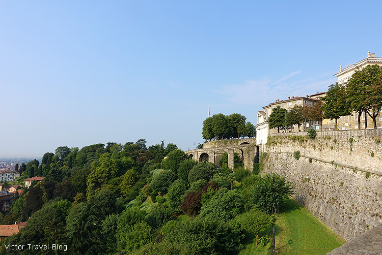 The Venetian Walls of Bergamo, Italy.