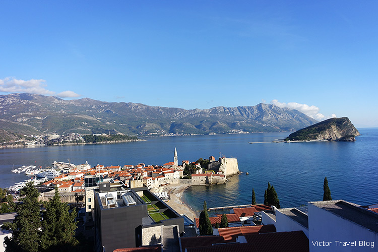 Budva Old Town, Montenegro.