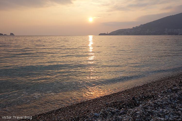 Budva Riviera, Montenegro.