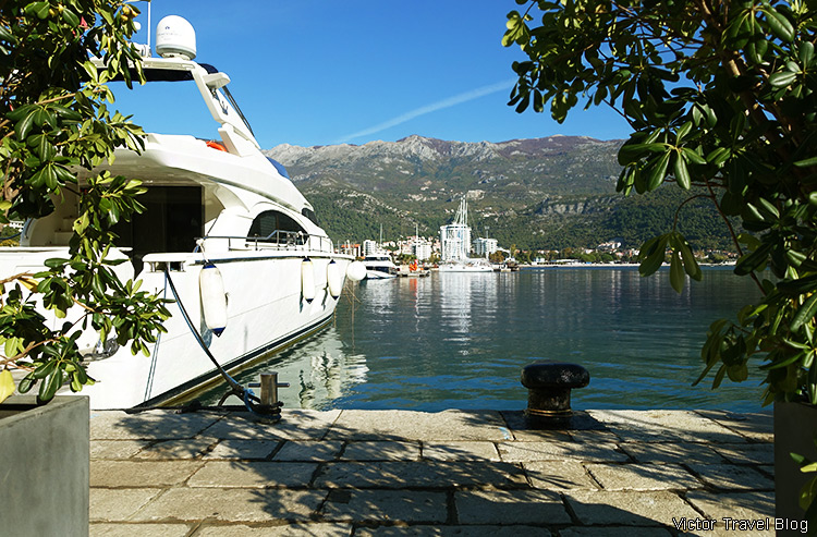 Yachting in Budva, Montenegro.
