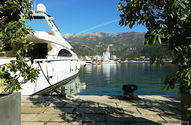 Yachting in Budva, Montenegro.