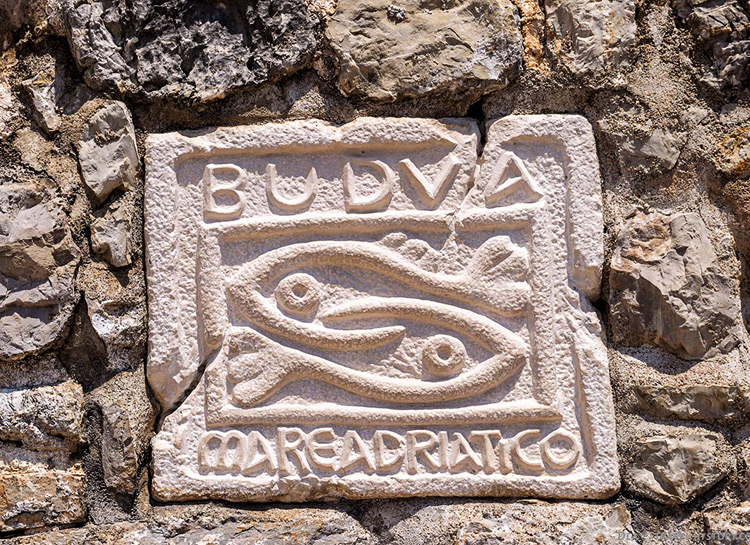 The symbol of Budva, Montenegro.