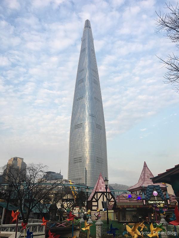 Lotte World Tower, Seoul, South Korea.