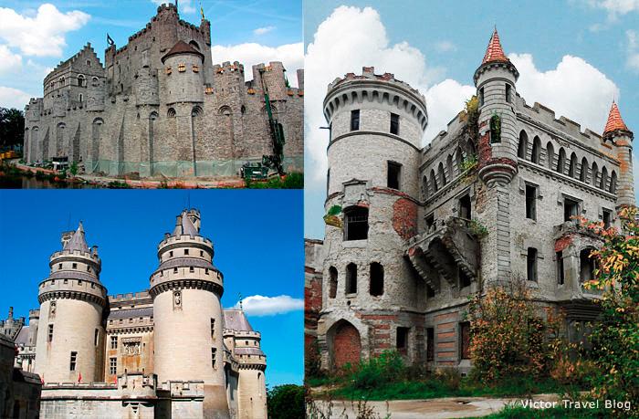 Three castles.