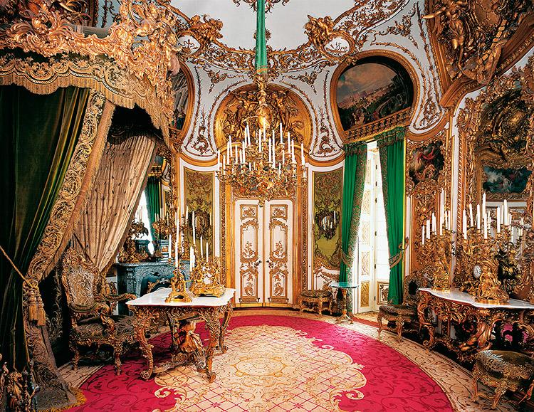 Audience room, Linderhof Palace, Bavaria, Germany.