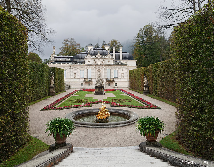Linderhof Palace, Bavaria, Germany.