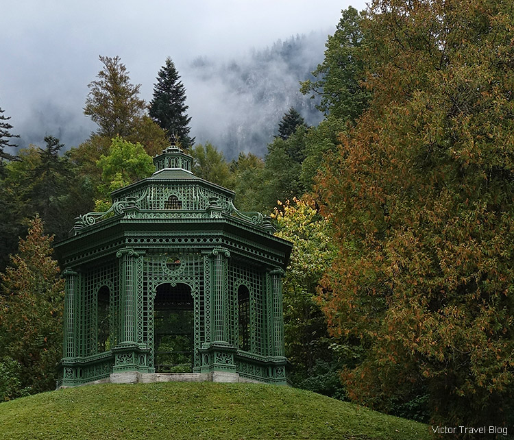 Music Pavilion, Linderhof park, Bavaria, Germany.