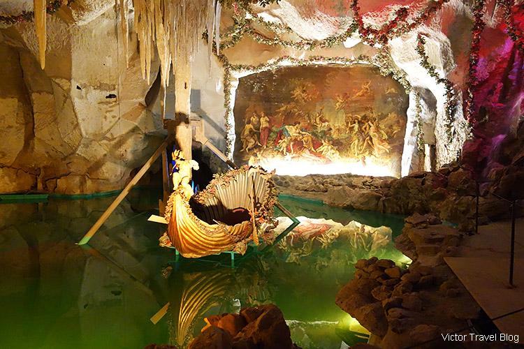 Venus Grotto, Linderhof, Bavaria, Germany.
