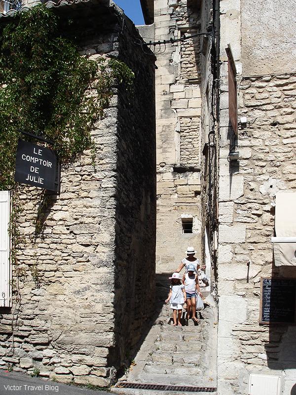 In Gordes, Provence, France.
