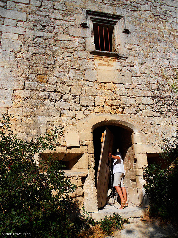 An old tower in Oppede le Vieux, Provence, France.