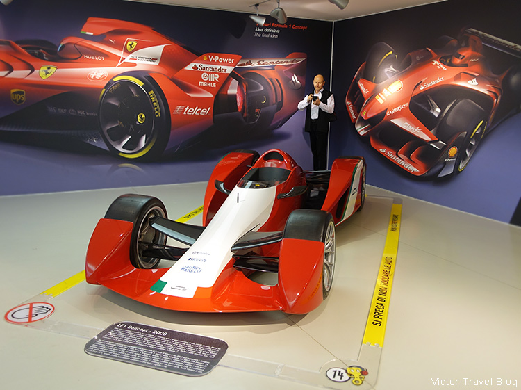 Formula 1 car, the Ferrari Museum, Maranello, Italy.