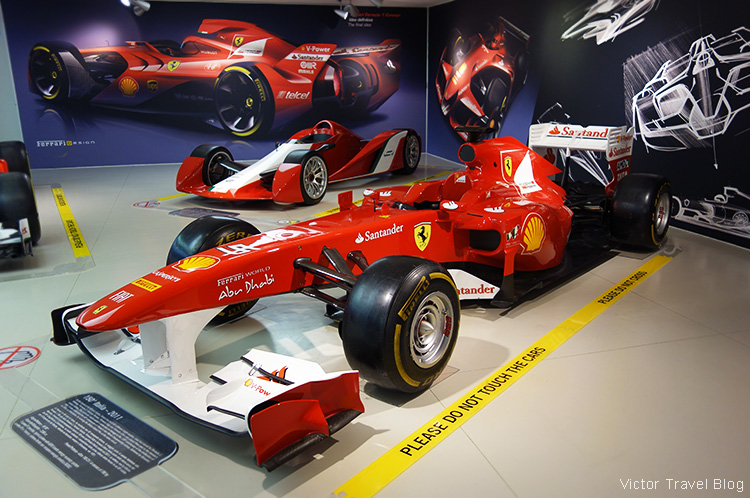 Formula 1 car, the Ferrari Museum, Maranello, Italy.