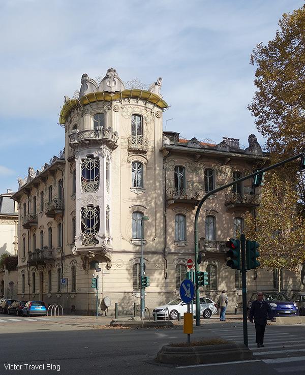 Casa Fenoglio-La Fleur, via Principi d,Acaja 11, Turin, Italy.