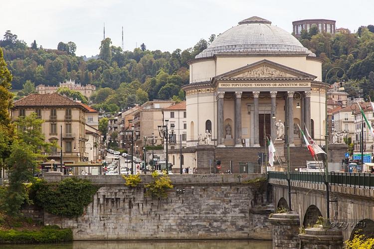 Chiesa Gran Madre Di Dio, Turin, Piedmont, Italy.