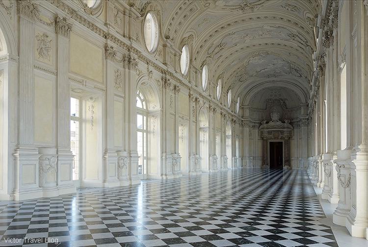 La Galleria Grande, Venaria Reale, Turin, Italy.