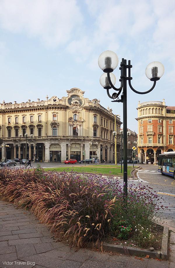 Piazza Solferino, Turin, Italy.