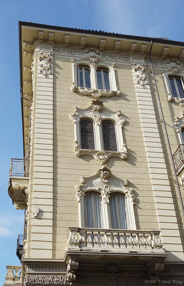 Via Schina. Turin, Piedmont, Italy.