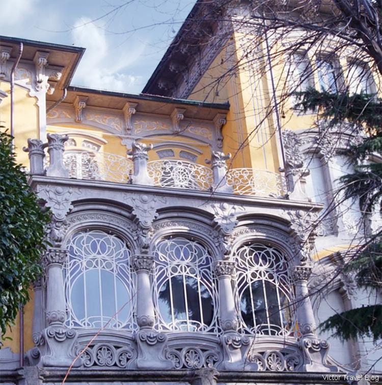 Villa Scott on Corso Giovanni Lanza 57, Turin, Piedmont, Italy.